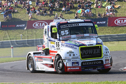 28.08.2015. Most, Czech Republic. FIA European Truck Racing Championship. Czech Truck Prix.<br />