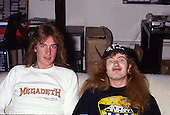 Oct 1986: MEGADETH - Photosession in London