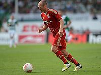 Fussball 1. Bundesliga :  Saison   2012/2013   1. Spieltag  25.08.2012 SpVgg Greuther Fuerth - FC Bayern Muenchen Arjen Robben (FC Bayern Muenchen)