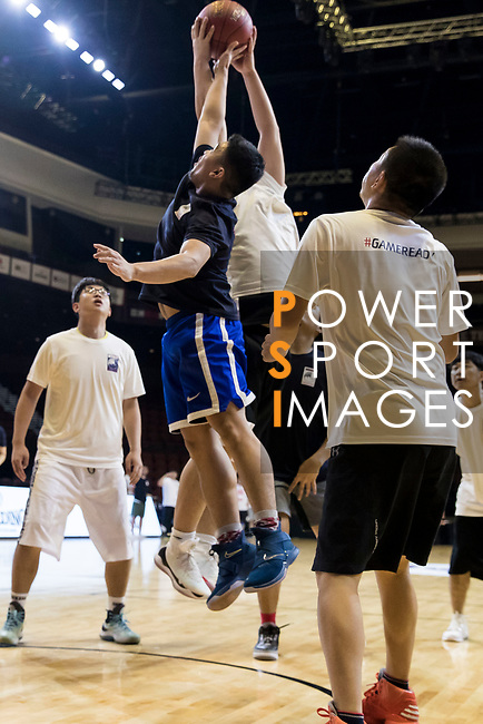 Media match during The Asia League's The Terrific 12 at Studio City Event Center on 22 September 2018, in Macau, Macau. Photo by Yu Chun Christopher Wong / Power Sport Images for Asia League