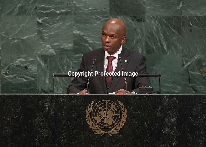 72 General Debate – 23rd of September  2017<br /> <br /> H.E. Alain Aimÿ NYAMITWE<br /> Minister for foreign Affairs and<br /> International Cooperation of<br /> BURUNDI