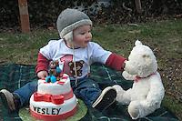 Wesley's 1st Birthday