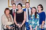 Emma Kiely Killarney with her family at the Kerry Sports Star awards in the Malton Hotel on Friday night l-r: Valarie, James, Emma, Rona, Erika and Suzanna Kiely