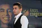 20150710. Atletico de Madrid's new player Angel Correa.