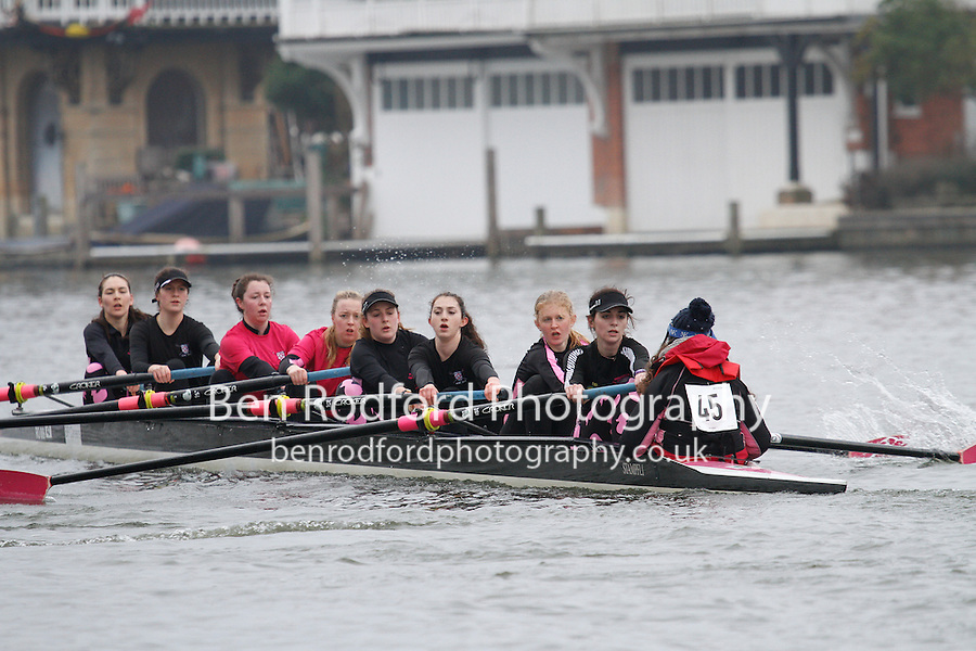 Crew: 45 - Worcester Coll  - W.IM3.8+ <br /> <br /> Henley Fours &amp; Eights Head 2017<br /> <br /> To purchase this photo, or to see pricing information for Prints and Downloads, click the blue 'Add to Cart' button at the top-right of the page.