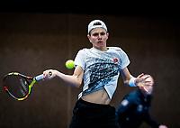 Alphen aan den Rijn, The Netherlands, 25 Januari 2019, ABNAMRO World Tennis Tournament, Supermatch, Final,  Jesper de Jong  (NED)<br /> Photo: www.tennisimages.com/Henk Koster