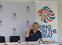 Caversham, Nr Reading, Berkshire.<br /> <br /> Sir DAVID TANNER, Olympic Rowing Team Announcement  Press conference at the RRM. Henley.<br /> <br /> Thursday  09.06.2016<br /> <br /> [Mandatory Credit: Peter SPURRIER/Intersport Images]
