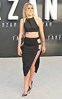 Tallia Storm at the &quot;The Legend of Tarzan&quot; European film premiere, Odeon Leicester Square, Leicester Square, London, England, UK, on Tuesday 05 July 2016.<br /> CAP/CAN<br /> &copy;Can Nguyen/Capital Pictures /MediaPunch ***NORTH AND SOUTH AMERICAS ONLY***