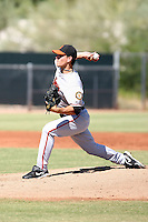 Austin Fleet - San Francisco Giants - 2010 Instructional League.Photo by:  Bill Mitchell/Four Seam Images..