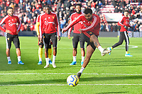 Troy Deeney of Watford in the warm up during AFC Bournemouth vs Watford, Premier League Football at the Vitality Stadium on 12th January 2020