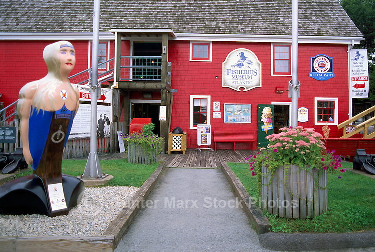 Old Town Lunenburg, a UNESCO World Heritage Site, Nova Scotia, Canada - Fisheries Museum of the Atlantic
