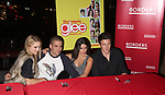 Dianna Agron, Mark Salling, Lea Michele & Cory Monteith<br /> celebrating the release of the smash hit CD, glee - the music season one with an appearance at Borders Columbus Circle in New York City. November 3, 2009