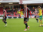 David Brooks of Sheffield Utd during the Championship match at Bramall Lane Stadium, Sheffield. Picture date 16th September 2017. Picture credit should read: Jamie Tyerman/Sportimage