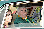 Grand Marshall Patsy Coleman pictured at the Ardee St. Patrick's day parade. Photo: Colin Bell/pressphotos.ie