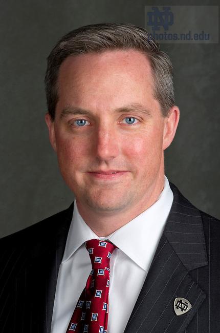 February 3, 2012; Mike Chapple, OIT senior leadership team. Photo by Barbara Johnston/University of Notre Dame