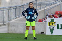 Bridgeview, IL - Sunday September 03, 2017: Sabrina D'Angelo during a regular season National Women's Soccer League (NWSL) match between the Chicago Red Stars and the North Carolina Courage at Toyota Park. The Red Stars won 2-1.