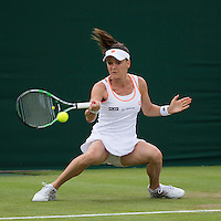 AGNIIESZKA RADWANSKA (POL)<br /> <br /> The Championships Wimbledon 2014 - The All England Lawn Tennis Club -  London - UK -  ATP - ITF - WTA-2014  - Grand Slam - Great Britain -  24th June 2014. <br /> <br /> &copy; Tennis Photo Network