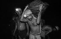 Lakhan Tanti a loader working inside the inclined mine of North Searsole Coliery in Ranigunj, West Bengal, India. Arindam Mukherjee