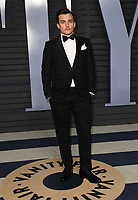 04 March 2018 - Los Angeles, California - Rupert Friend. 2018 Vanity Fair Oscar Party hosted following the 90th Academy Awards held at the Wallis Annenberg Center for the Performing Arts. <br /> CAP/ADM/BT<br /> &copy;BT/ADM/Capital Pictures