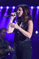 11 June 2017 - Nashville, Tennessee - Karen Fairchild. 2017 CMA Music Festival Nightly Concert held at Nissan Stadium. Photo Credit: Dara-Michelle Farr/AdMedia