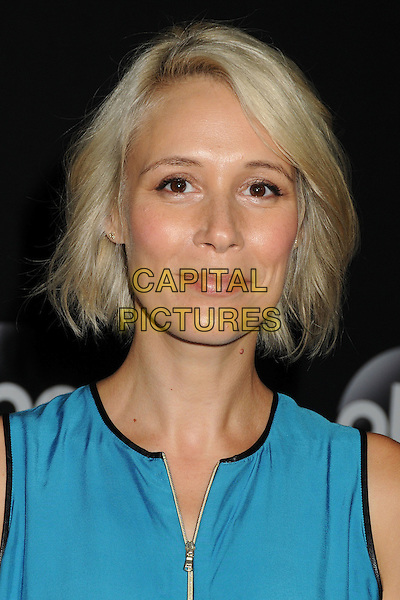 15 July 2014 - Beverly Hills, California - Liza Weil. Disney/ABC Television Group Summer Press Tour 2014 held at the Beverly Hilton Hotel. <br /> CAP/ADM/BP<br /> &copy;Byron Purvis/AdMedia/Capital Pictures