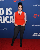 """15 May 2019 - Los Angeles, California - Sarah Silverman. Showtime Emmy® For Your Consideration """"Who Is America?"""" held on the Paramount Studios lot at the Paramount Theatre. Photo Credit: Billy Bennight/AdMedia"""