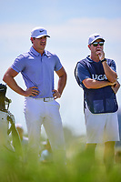 Brooks Koepka (USA) looks over his tee shot on 13 during Friday's round 2 of the 117th U.S. Open, at Erin Hills, Erin, Wisconsin. 6/16/2017.<br /> Picture: Golffile | Ken Murray<br /> <br /> <br /> All photo usage must carry mandatory copyright credit (&copy; Golffile | Ken Murray)