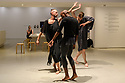 Trajal Harrell: Hoochie Koochie, a performance exhibition. Barbican Art Gallery presents the first ever performance exhibition of the New York-based choreographer and dancer, Trajal Harrell. Piece shown is Ghost Trio