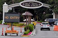 Las Vegas NV - March 18: Wynn & Encore Las Vegas Resorts along the Las Vegas Strip will close temporarily in Las Vegas, Nevada on March 18, 2020. <br /> CAP/DAM<br /> ©DAM/Capital Pictures