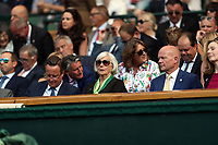 LONDON, ENGLAND - JULY 06: David Cameron, William Hague at day five of the Wimbledon Tennis Championships at the The All England Lawn Tennis Club on July 6, 2018 in London, England<br /> CAP/MPI122<br /> &copy;MPI122/Capital Pictures