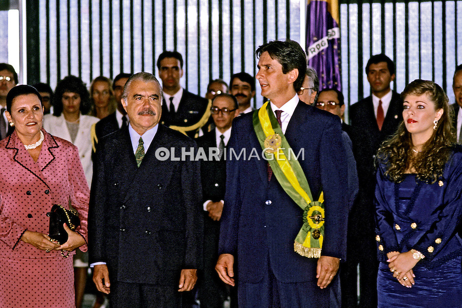 Posse do presidente Fernando Collor. DF. 1999. Foto de Ricardo Azoury.
