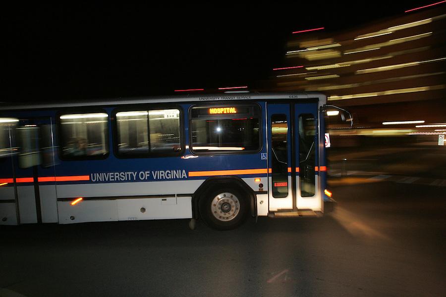 Uva transit bus