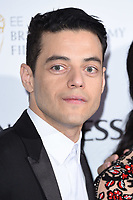 LONDON, UK. February 09, 2019: Rami Malek arriving for the 2019 BAFTA Film Awards Nominees Party at Kensington Palace, London.<br /> Picture: Steve Vas/Featureflash