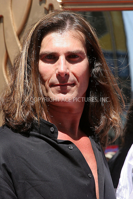 WWW.ACEPIXS.COM . . . . .  ....NEW YORK, APRIL 14, 2005....Fabio rides a horse in Times Square to promote the Oxygen Chanel's 'Mr. Romance.'....Please byline: ACE005 - ACE PICTURES.... *** ***..Ace Pictures, Inc:  ..Craig Ashby (212) 243-8787..e-mail: picturedesk@acepixs.com..web: http://www.acepixs.com