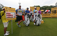 On the last tee, Lee Westwood (ENG) has has a 6 shot cushion during the Final Round of the 2014 Maybank Malaysian Open at the Kuala Lumpur Golf & Country Club, Kuala Lumpur, Malaysia. Picture:  David Lloyd / www.golffile.ie