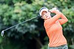 Golfer Qiuyin Sheng of Hong Kong during the 2017 Hong Kong Ladies Open on June 10, 2017 in Hong Kong, Hong Kong. Photo by Chris Wong / Power Sport Images.