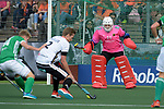 NED - Amsterdam, Netherlands, August 20: During the men Pool B group match between Germany (white) and Ireland (green) at the Rabo EuroHockey Championships 2017 August 20, 2017 at Wagener Stadium in Amsterdam, Netherlands. Final score 1-1. (Photo by Dirk Markgraf / www.265-images.com) *** Local caption *** Tobias Walter #21 of Germany
