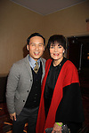 BD Wong (Law & Order) and Linda Dano at Rosie's Annual BUILDING DREAMS FOR KIDS GALA on October 15, 2012 at the New York Marriott Marquis. The event raised $850.000. An online auction still going on. Rosie's Theater Kids is an arts education organization dedicated to enrighing the lives of children through the art.   (Photo by Sue Coflin/Max Photos)