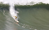 Ryan Seelbach. Mavericks Surf Contest in Half Moon Bay, California on February 13th, 2010.