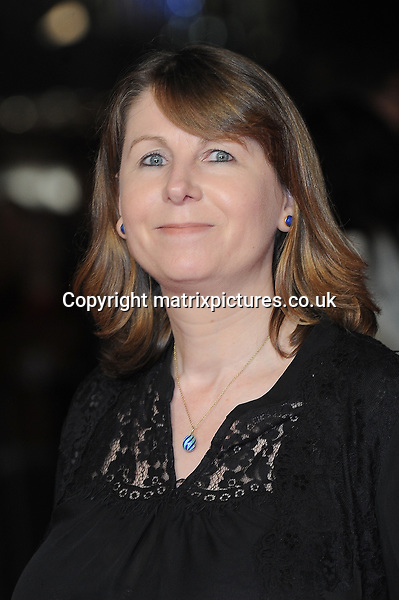 NON EXCLUSIVE PICTURE: PAUL TREADWAY / MATRIXPICTURES.CO.UK<br /> PLEASE CREDIT ALL USES<br /> <br /> WORLD RIGHTS<br /> <br /> Producer Rosie Alison attending the 58th BFI London Film Festival Centrepiece Gala of Testament Of Youth, at Odeon Leicester Square in London.<br /> <br /> OCTOBER 14th 2014<br /> <br /> REF: PTY 144409
