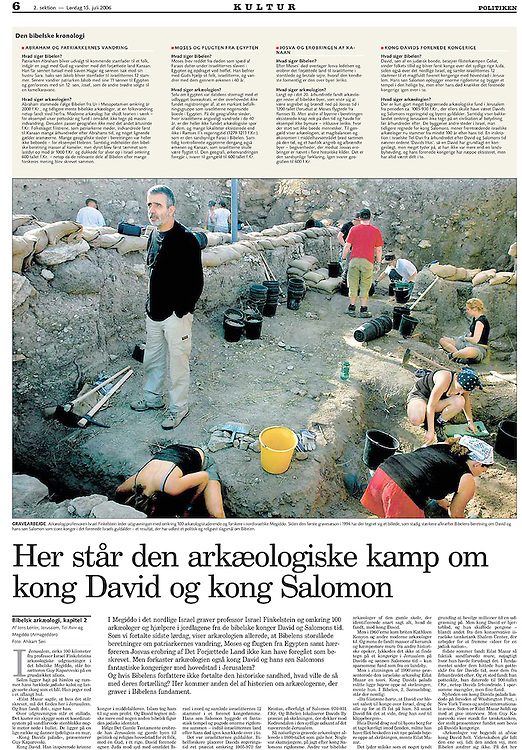 Politiken, Denmark - July 15, 2006