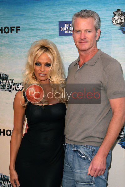 Pamela Anderson and guest<br /> at the Comedy Central Roast of David Hasselhoff, Sony Studios, Culver City, CA. 08-01-10<br /> David Edwards/DailyCeleb.com 818-249-4998