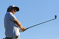 Ross McGowan (ENG) on the 14th tee during Round 3 of the Challenge Tour Grand Final 2019 at Club de Golf Alcanada, Port d'Alcúdia, Mallorca, Spain on Saturday 9th November 2019.<br /> Picture:  Thos Caffrey / Golffile<br /> <br /> All photo usage must carry mandatory copyright credit (© Golffile | Thos Caffrey)