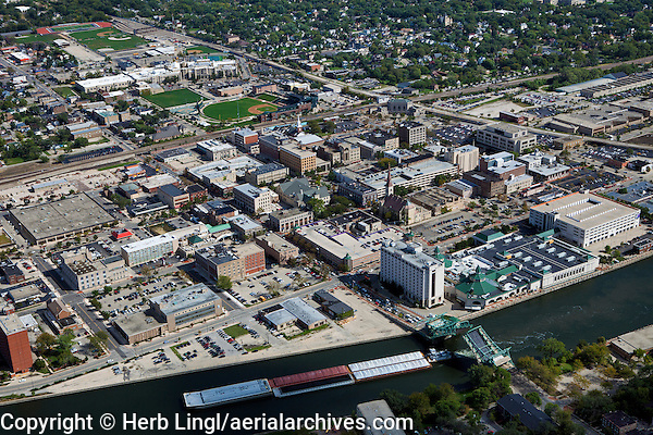 aerial photograph Joliet, Illinois