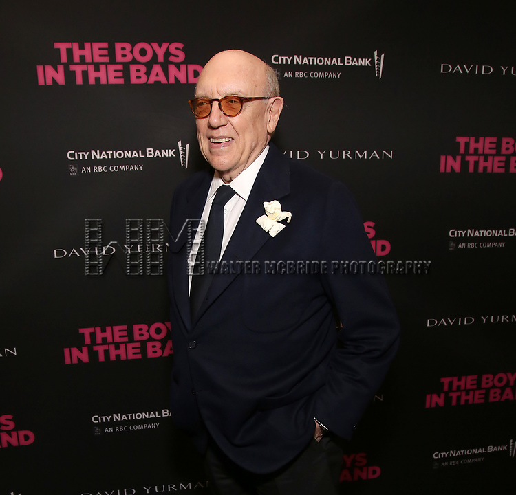 Matt Crowley attends 'The Boys in the Band' 50th Anniversary Celebration at The Booth Theatre on May 30, 2018 in New York City.