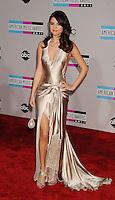 LOS ANGELES, CA - NOVEMBER 20: Selena Gomez arrives at the 2011 American Music Awards held at Nokia Theatre L.A. LIVE on November 20, 2011 in Los Angeles, California.