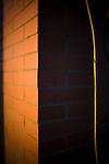 Brick wall, Seville, Spain