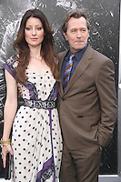 NEW YORK, NY - JULY 16:  Alexandra Edenborough and Gary Oldman at 'The Dark Knight Rises' premiere at AMC Lincoln Square Theater on July 16, 2012 in New York City.  © RW/MediaPunch Inc.