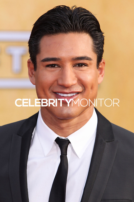 LOS ANGELES, CA - JANUARY 18: Mario Lopez at the 20th Annual Screen Actors Guild Awards held at The Shrine Auditorium on January 18, 2014 in Los Angeles, California. (Photo by Xavier Collin/Celebrity Monitor)