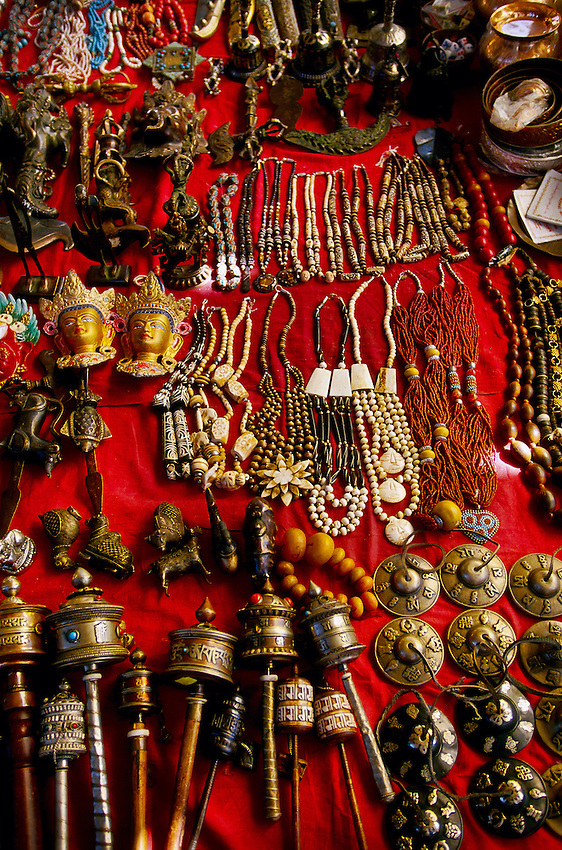 Handicrafts, Sunday Market in Thimphu, Bhutan
